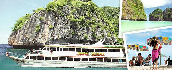 เที่ยวเกาะพีพี-เกาะไข่ (Luxury Boat)