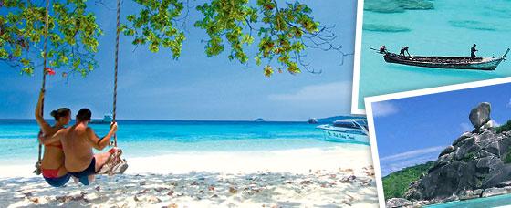โปรแกรมทัวร์หมู่เกาะสิมิลัน